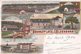 CPA - Gruss - Truppenübungsplatz Elsenborn  Eifel - 1900 - Elsenborn (camp)