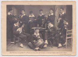 TOURNAI - Photographie Phono-Photo Les Pierrots Jazz-Band 1er Prix Du Concours De Groupes Tournai-Palace, Mi-Carême 1922 - Tournai