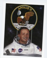 Angola-1999-Apollo 11-Armstrong-Aigle YT B72***MNH - Angola
