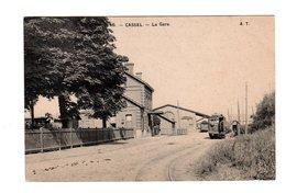 CPA 59 - Cassel - La Gare , Wagon - Cassel