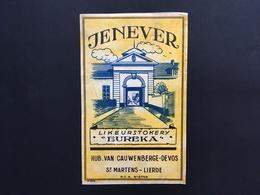 SINT MARTENS LIERDE - Etiket - Stokerij - Eureka - Van Cauwenberge-Devos - Jenever - Likeur - Distillerie - Lierde