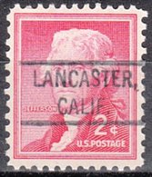 USA Precancel Vorausentwertung Preo, Locals California, Lancaster 804 - Vereinigte Staaten