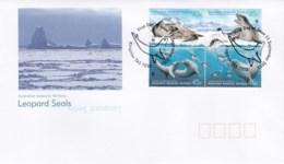 Australian Antarctic 2001 Leopard Seals FDC - FDC