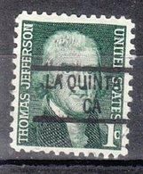 USA Precancel Vorausentwertung Preo, Locals California, La Quinta 841 - Vereinigte Staaten