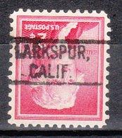 USA Precancel Vorausentwertung Preo, Locals California, Larkspur 802 - Vereinigte Staaten