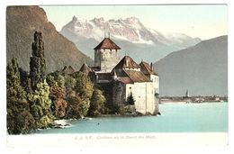 Chillon Et La Dent Du Midi - Ed. Jullien Frères, Genève - VD Vaud