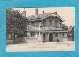 Nogent-sur-Marne. - La Gare. - Nogent Sur Marne