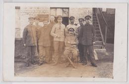 FLAVIGNY-LE-GRAND (Aisne) - Carte-photo Grande Guerre 16 Août 1917 - Schreibstube - Autres Communes