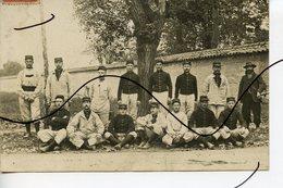 CARTE PHOTO. CPA. D69. BRON. Photo Groupe De Soldats. Militaire - Photographs
