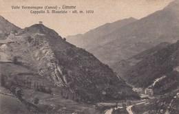 LIMONE PIEMONTE-CUNEO-CAPPELLA SAN MAURIZIO-CARTOLINA NON VIAGGIATA-ANNO 1915-1925 - Cuneo