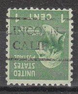 USA Precancel Vorausentwertung Preo, Locals California, Lincoln 716 - Vereinigte Staaten