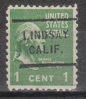 USA Precancel Vorausentwertung Preo, Locals California, Lindsey 712 - Vereinigte Staaten