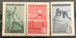 Yugoslavia, 1948, Mi: 557/59 (MNH) - Nuovi