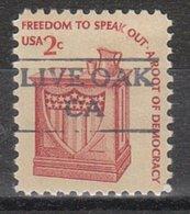 USA Precancel Vorausentwertung Preo, Locals California, Live Oak 872 - Vereinigte Staaten