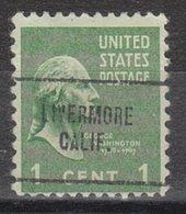 USA Precancel Vorausentwertung Preo, Locals California, Livermore 704 - Vereinigte Staaten
