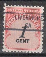 USA Precancel Vorausentwertung Preo, Locals California, Livermore 841 - Vereinigte Staaten