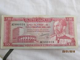 Ethiopie: 10 $ET 1966 - Ethiopia