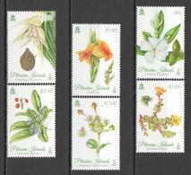 E480 PITCAIRN ISLANDS FLORA FLOWERS #907-12 1SET !!! MICHEL 20 EURO !!! MNH - Plants