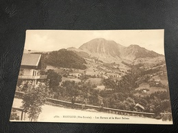 4680 - MANIGOD Les Envers Et Le Mont Sulens - 1930 Timbrée - Autres Communes