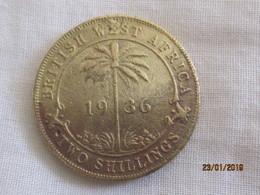 Nigeria / British West Africa: 2 Shillings 1936 - Nigeria