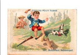 CHROMOS A. ROUGIER PARIS  - COUP DOUBLE - Autres