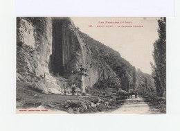 Saint Béat. La Carrière Romaine. Avec Attelage De Boeufs. (3199) - France