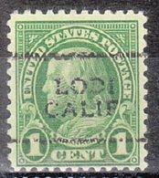 USA Precancel Vorausentwertung Preo, Locals California, Lody 632-701 - Vereinigte Staaten