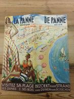 Oude AUTHENTIEKE Publicitaire Folder Van De Panne - La Panne, Jaren 20 - Publicités