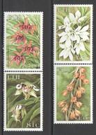 E485 FIJI NATURE FLORA FLOWERS #880-83 1SET MNH - Plants