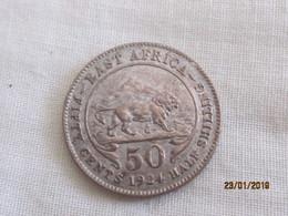 British East Africa: 50 Cents 1924 (rare) - Colonie Britannique