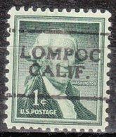 USA Precancel Vorausentwertung Preo, Locals California, Lompoc 701 - Vereinigte Staaten