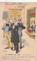 *** Illustrateur *** Caricatures Jaurés Brisson Pelletan - La Comete De 1910 Deuxieme Effet ... - Illustrators & Photographers