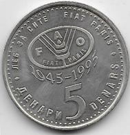 Macédoine - 5 Denars - 1995 - Macédoine