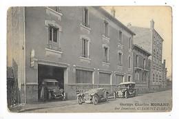 CLERMONT FERRAND  (cpa 63)  Garage Charles MORAND Rue Bonnabaud - Vieilles Voitures   -  L 1 - Clermont Ferrand
