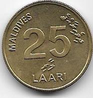 Maldives - 25 Laari - 1996 - Maldiven