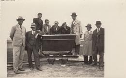 Mining Wagon , Railway Real Photo Postcard 20s - Photographs