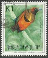Papua New Guinea. 1991 Birds Of Paradise. 1K Used. SG647 - Papua New Guinea