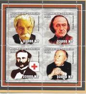 TIMBRES - STAMPS - SELLOS - MOZAMBIQUE / MOÇAMBIQUE - 2002 - GRANDS MÉDECINS - SERIE AVEC TIMBRES NEUFS - MNH - Célébrités