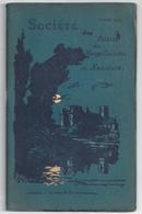 """Annuaire 1912 """"Société Des Amis Du Vieux Château De Nemours"""" -compte-rendu - Ile-de-France"""