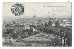 CLERMONT FERRAND  (cpa 63)  Vue Générale   -  L 1 - Clermont Ferrand
