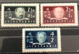 Yugoslavia, 1948, Mi: 545/47 (MNH) - 1945-1992 Socialist Federal Republic Of Yugoslavia