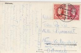 Slovaquie Carte Postale Hlohovec 1939 - Storia Postale
