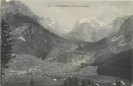 CPA 73 Savoie Pralognan Et Le Col De La Vanoise (cachet Hotel Du Dome De Chasseforet) - Pralognan-la-Vanoise