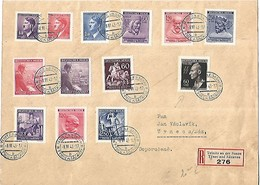 BOHEME MORAVIE L. Reco Teinitz An Der Sasau  1943 - Bohême & Moravie