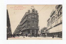 Toulouse. Entrée De La Rue Alsace Lorraine Et Rue Remusat. Attelages. Devantures De Magasins. Mutuelle Lyonnaise. (3203) - Toulouse