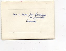 Mariage De Pearls Barnes Of Auckland Et Albert Dugas Of Paris  At Johannesburg - 22 Novembre 1958 - Mariage
