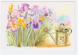 D. LEBEAU - Edts Ouranos - * Fleurs Iris & Arrosoir - Illustrateurs & Photographes