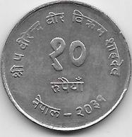 Népal - 10 Rupees - 1974 - Népal