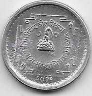 Népal - 5 Paisa - 1972 - Aluminium - Népal