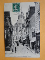 LA FERTE BERNARD -- Lot 2 Cpa -- Rue Carnot & Gare Tramways à Vapeur - La Ferte Bernard